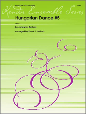 Hungarian Dance #5 - 2nd Baritone B.C.