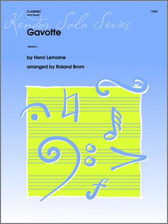 Gavotte - Solo Bb Clarinet
