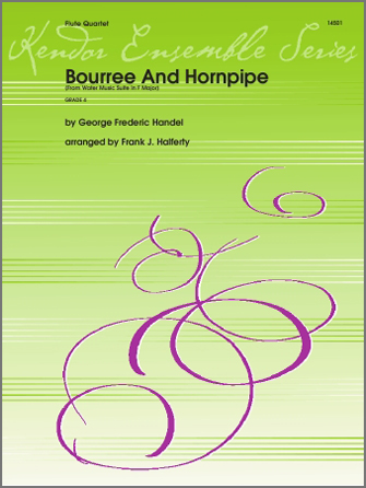 Bourree And Hornpipe (from Water Music Suite In F Major) - 1st Flute