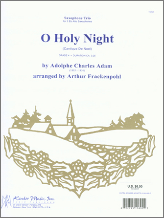 O Holy Night (Cantique de Noel) - Full Score