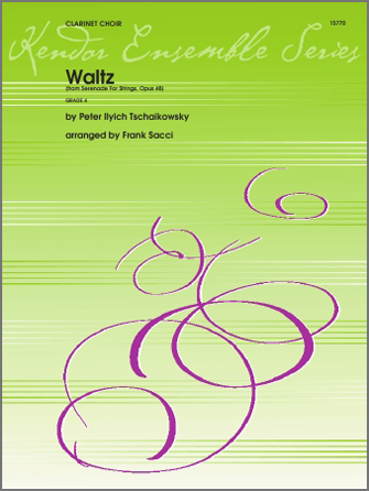 Waltz From Serenade For Strings Op. 48 - Bb Contra Bass Clarinet