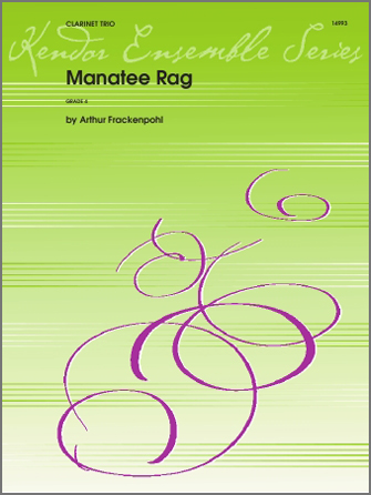 Manatee Rag - 2nd Bb Clarinet