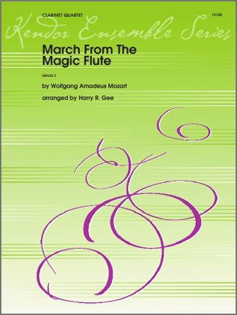 March From The Magic Flute - Full Score