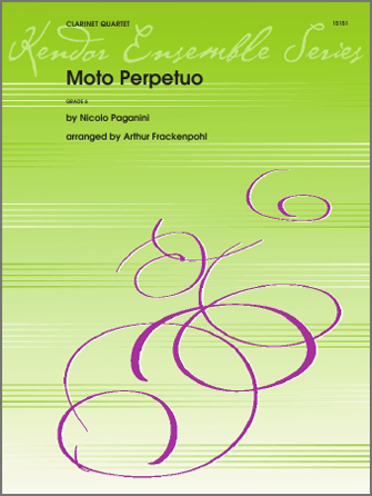 Moto Perpetuo - 2nd Bb Clarinet