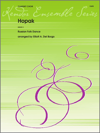 Hopak - 2nd Bb Clarinet