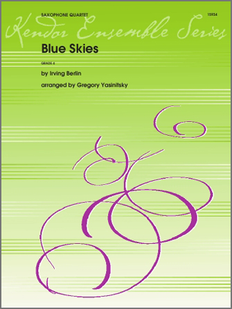 Blue Skies - Bb Tenor Saxophone