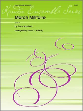 Marche Militaire - 1st Eb Alto Saxophone