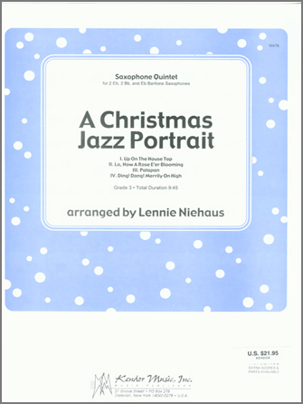 A Christmas Jazz Portrait - 1st Tenor Saxophone