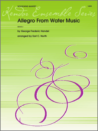 Allegro From Water Music - Full Score