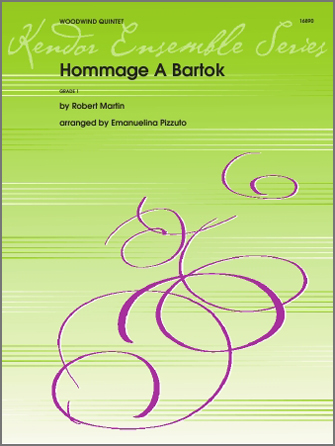 Hommage A Bartok - Full Score