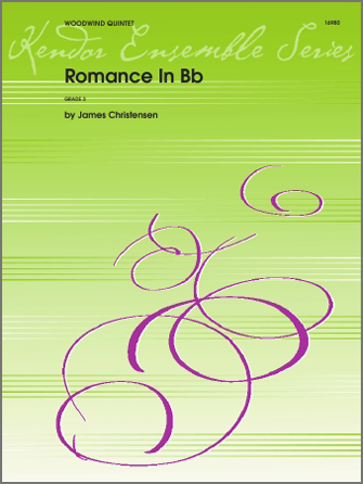 Romance In Bb - Full Score