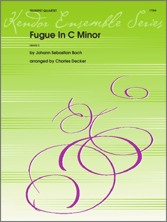 Fugue In C Minor - Full Score