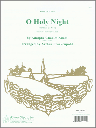 O Holy Night (Cantique de Noel) - 2nd Horn in F
