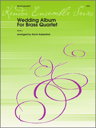 Wedding Album For Brass Quartet - 2nd Bb Trumpet