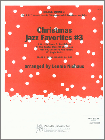 Christmas Jazz Favorites #3 - 1st Bb Trumpet