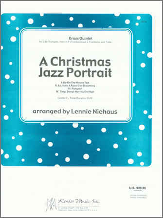 A Christmas Jazz Portrait - Optional Trombone