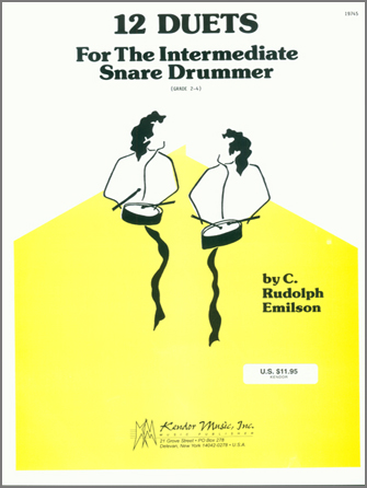 12 Duets For The Intermediate Snare Drummer