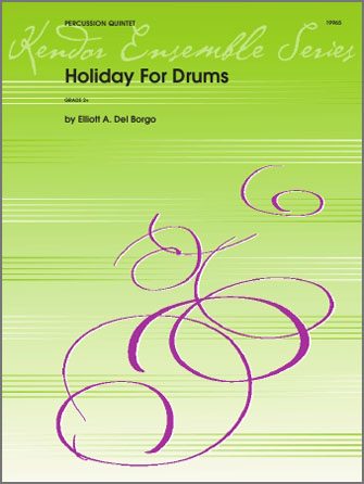 Holiday For Drums - Percussion 3