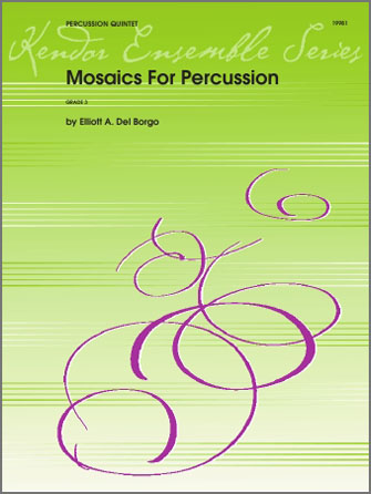 Mosaics For Percussion - Percussion 4