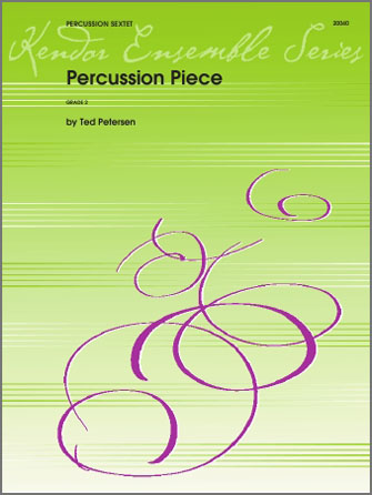 Percussion Piece - Full Score