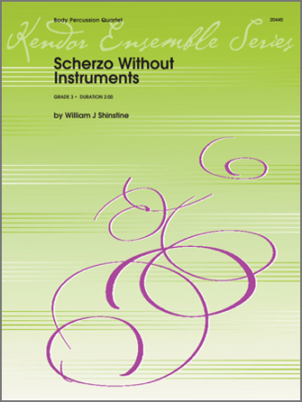 Scherzo Without Instruments - Percussion 4