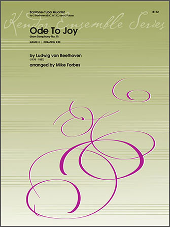 Ode To Joy (from Symphony No. 9) - 2nd Baritone B.C.