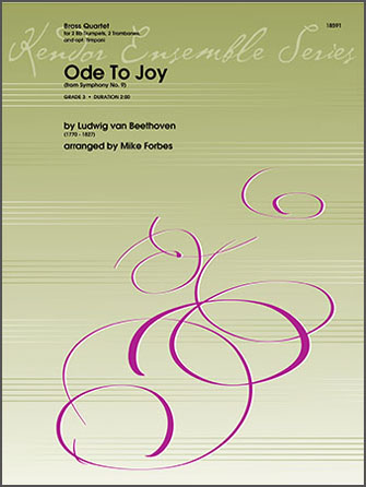 Ode To Joy (from Symphony No. 9) - Full Score