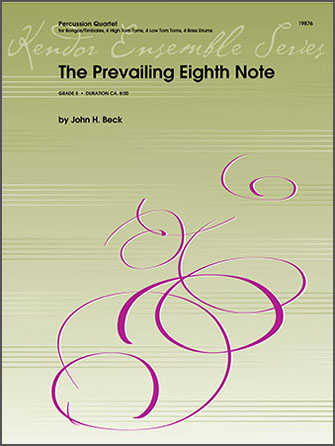The Prevailing Eighth Note - Percussion 3