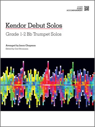 Kendor Debut Solos - Bb Trumpet - Piano Accompaniment