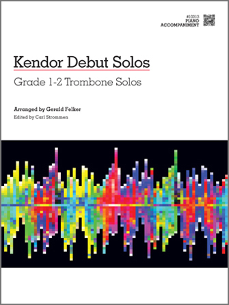 Kendor Debut Solos - Trombone - Piano Accompaniment