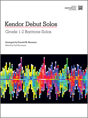 Kendor Debut Solos - Baritone T.C.