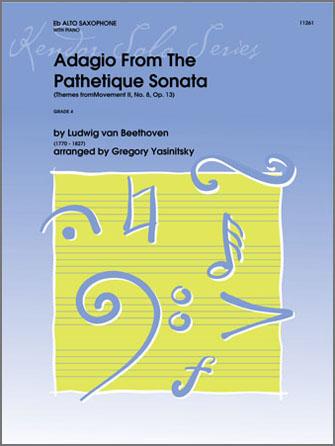 Adagio From The Pathetique Sonata (Themes From Movement II, No. 8, Op. 13) - Alto Sax