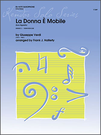 La Donna E Mobile (from Rigoletto) - Alto Sax
