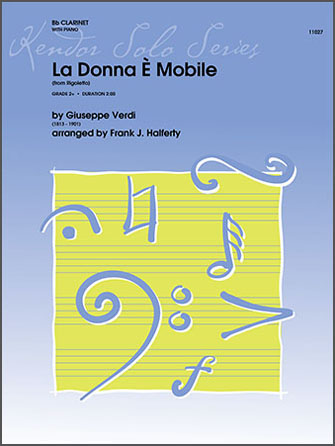 La Donna E Mobile (from Rigoletto) - Clarinet