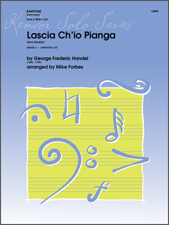 Lascia Ch'io Pianga (from Rinaldo) - Piano