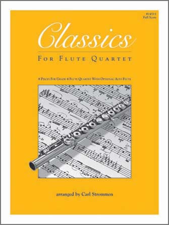 Classics For Flute Quartet - Full Score