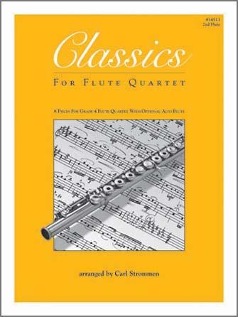 Classics For Flute Quartet - 2nd Flute