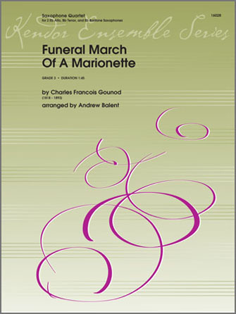 Funeral March Of A Marionette - Full Score