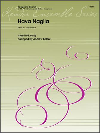 Hava Nagila - 1st Eb Alto Saxophone