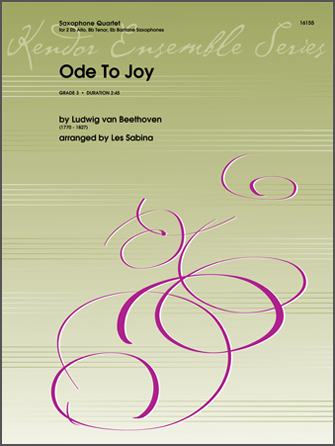 Ode To Joy - 2nd Eb Alto Saxophone