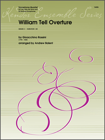 William Tell Overture - Bb Tenor Saxophone
