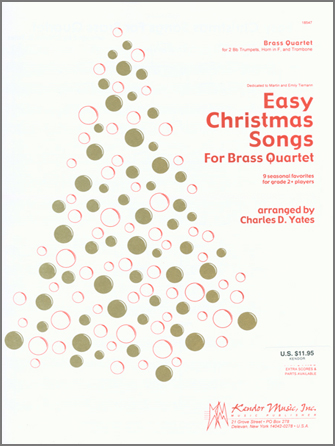 Easy Christmas Songs For Brass Quartet - 2nd Bb Trumpet