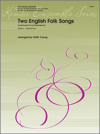 Two English Folk Songs (Scarborough Fair and Greensleeves) - Bb Soprano Sax