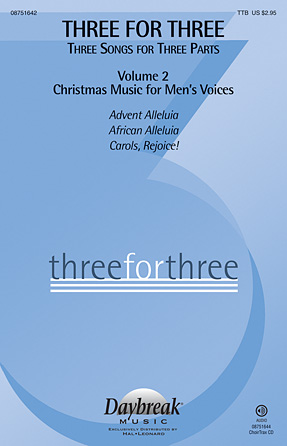 Three For Three - Three Songs For Three Parts - Volume 2