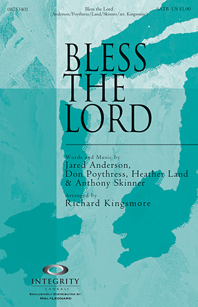 Bless The Lord - Tenor Sax (sub. Tbn 2)