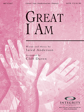 Great I Am - Percussion