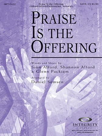 Praise Is The Offering - Alto Sax (sub. Horn)