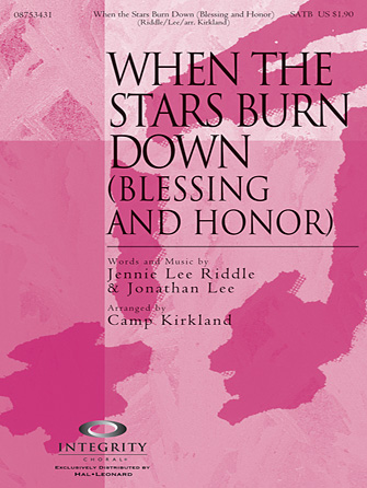 When The Stars Burn Down (Blessing And Honor) - F Horn