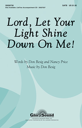 lord let your light shine down on me sheet music direct
