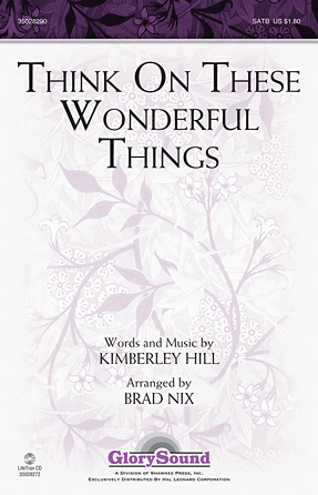 Think On These Wonderful Things